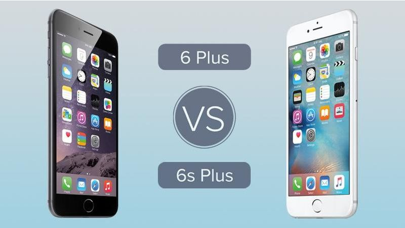 Difference between Apple iPhone 6 and iPhone 6 Plus