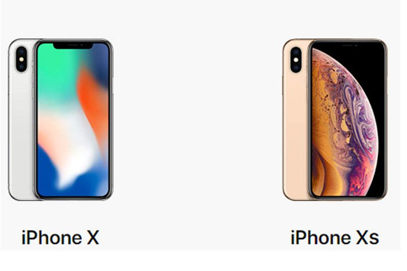 Difference between iPhone X and iPhone XS